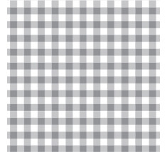 Cotton Classics - Grey - Gingham 9mm