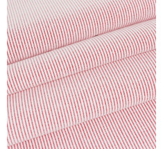 Chambray Fine Stripe - Red