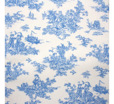 Petit French Toile - Blue