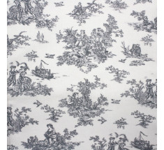Petit French Toile - Grey