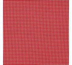 Vichy Tiny Printed Gingham - Red