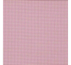 Vichy Tiny Printed Gingham - Dusty Pink
