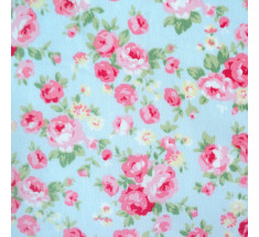 Rosie - Small Floral - Blue