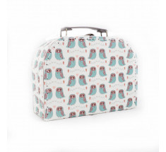 Storage Suitcase - Sass & Belle - Owls - Small
