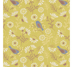 Lewis and Irene - A Little Bird Told Me - Main on Spring Yellow