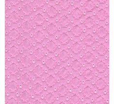 Broderie Anglaise Eyelet Design 10 - Pink