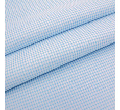 Candy Mini Gingham - Pale Blue