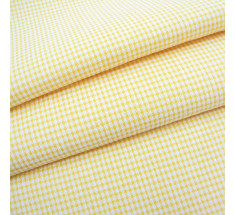 Candy Mini Gingham - Yellow