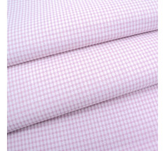 Candy Mini Gingham - Dusty Pale Pink