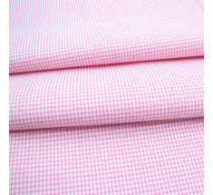 Candy Mini Gingham - Pale Pink
