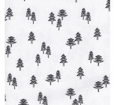 Black & White Christmas - Spruce & Fir