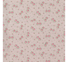 Dimity Small Floral - Pale Beige