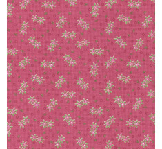 Dimity Small Floral - Deep Pink