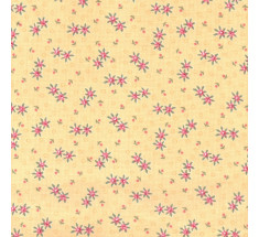 Dimity Small Floral - Yellow