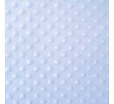 Dimple Fleece - Dot - Blue - Oeko-tex