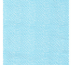Seaside / Fishes - Puddle Dots - Blue White