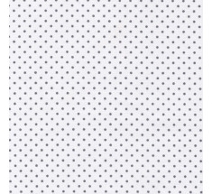 Cotton Classics - Grey on White - Dot Tiny