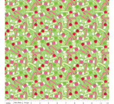 Holiday Candy Cane by Riley Blake - Green LAST METRE