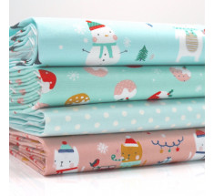 FQ Bundle - Dashwood Festive Friends - Aqua Green Pink x 4
