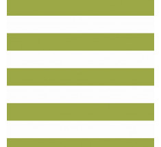 Jersey Stripe - with Elastane - Lime