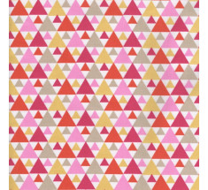 Le Motif 2 - Triangle Trees - Pink