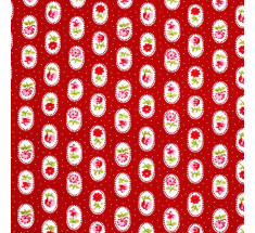Lorna Small Floral - Red