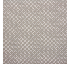 Mink and Pink Collection - Millegrain Circles  Beige LAST METRE