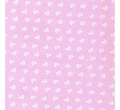 Puff Bows Poly Cotton - Pink