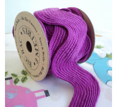 3m Roll Sass and Belle Giant Oversized Ric Rac - Purple