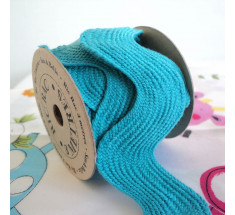 3m Roll Sass and Belle Giant Oversized Ric Rac - Turquoise
