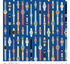 Geekly Swatches by Riley Blake - Blue