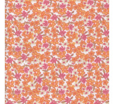 Sweetheart Tiny Floral - Lilas -  Orange