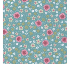 Sweetheart Tiny Floral - Rosalie - Turquoise