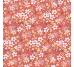 Sweetheart Tiny Floral - Rosalie - Orange