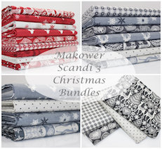 makower scandi christmas fabric