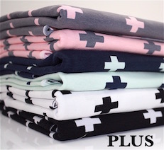 plus cotton jersey by the metre